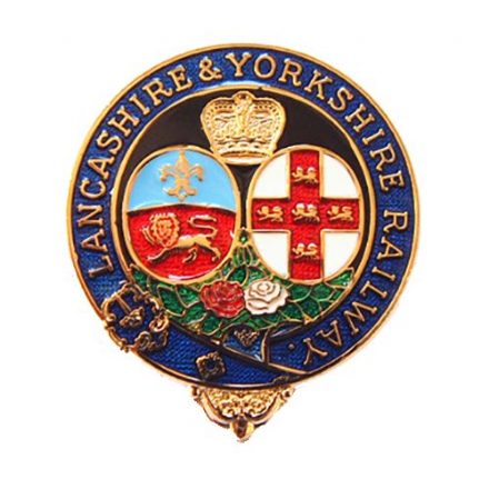 Lancashire & Yorkshire Railway Coat Of Arms Collectors Badge